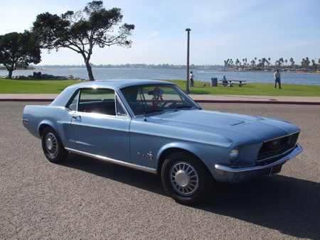 Hollywood's 1968 Ford Mustang